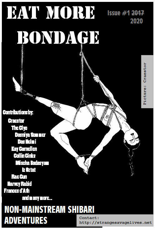 Ann Antidote Cover from Zine Eat More Bondage by Ann Antidote